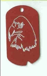 Eagle Military Tag Necklace
