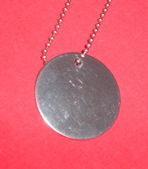 Stainless Steel Round Necklace