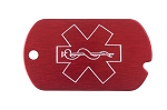 Medical Alert Military Tag Necklace